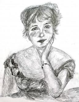 Jeanne Samary, by Sara Izquierdo de Manuel