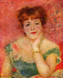 La Rêverie (1877), Renoir