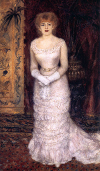Portrait de Jeanne Samary en pied (1878), Renoir