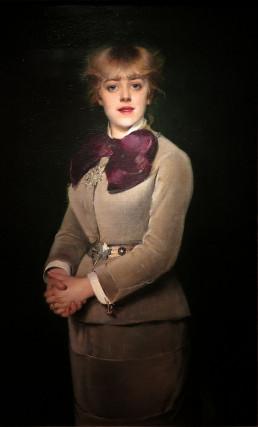 Portrait de Jeanne Samar (1880), Louise Abbéma