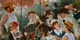 Le déjeuner des canotiers (1881), Renoir