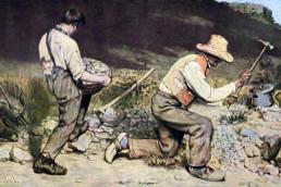 Les Casseurs de pierre, de Courbet (1849)
