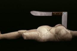Femme-couteau, de Louise Bourgeois (2002)
