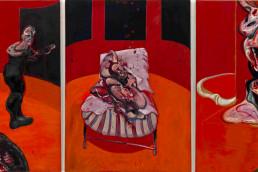 Trois études pour une crucifixion, de Francis Bacon (1962)