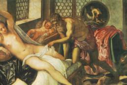 Mars et Vénus surpris par Vulcain (1552), Tintoret